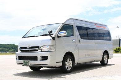 ワゴン型観光タクシー