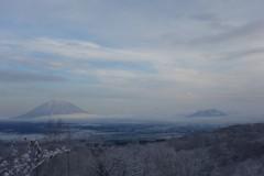 ウインザーホテル洞爺の雪景色