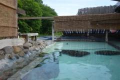 滝(大滝ナイアガラの滝)と秘湯(北湯沢温泉)