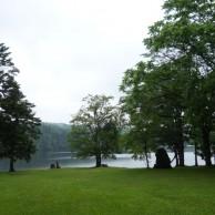 北海道の秘湖 チミケップ湖