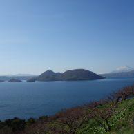 洞爺湖 ゴールデンウイークの北海道 洞爺湖の風景