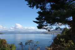 10月の洞爺湖周辺